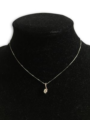 14k diamond necklace for Sale in Alexandria, VA