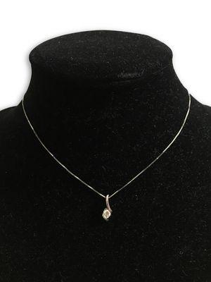 14k diamond necklace for Sale in Alexandria, VA