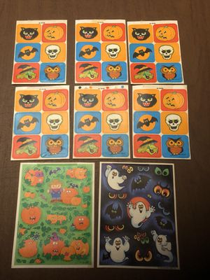 1980s Hallmark Halloween Stickers for Sale in Centreville, VA