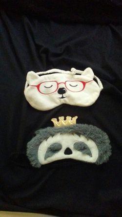 2 sleeping masks. Never used. Thumbnail