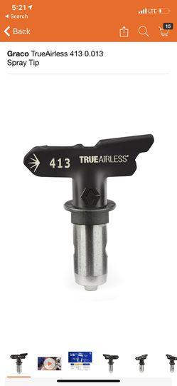 Graco TrueAirless 413 0.013 Spray Tip Thumbnail