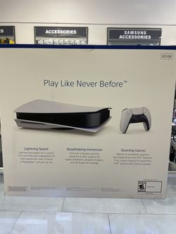 PLAYSTATION 5 DISK EDITION TAKE IT HOME JUST FOR $899 CASH/CARD DEAL Thumbnail