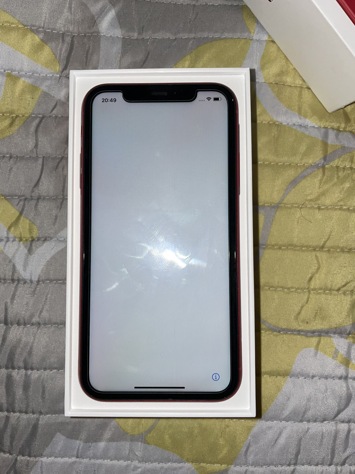 iPhone 11 red 64 has been in use for less then 9 months