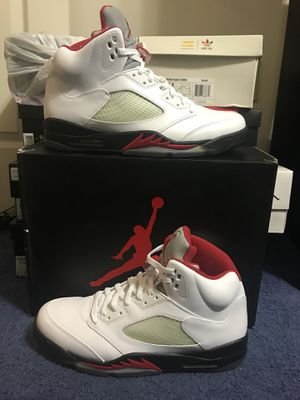 Nike Air Jordan 5 Retro Fire Red Size 13 for Sale in Annandale, VA