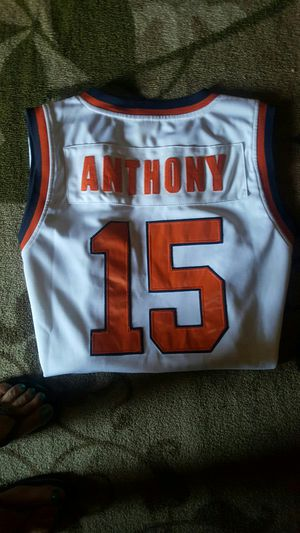 7d7a3fb67 Authentic Throwback Carmelo Anthony Syracuse College Jersey for Sale in San  Leandro