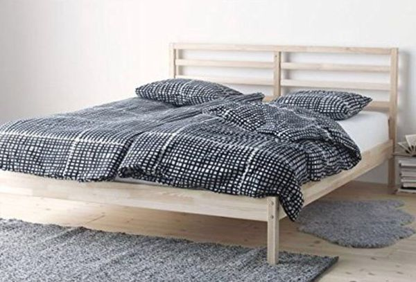 34ee92c0626 IKEA Tarva full sized bed with Luröy slats for Sale in Denver