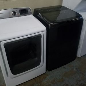 Photo High Speed Samsung Top Load No Agitator Washer & Electric Dryer Set! Military Discount! Near Lynnhaven! Have Others! Delivery Available!