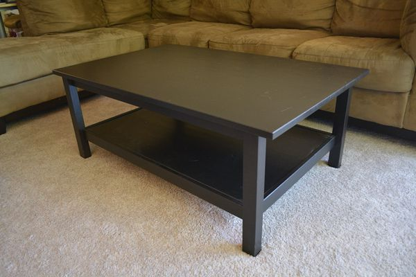 Ikea Hemnes Coffee Table Black Brown For In Mountain