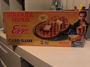 Stranger Things Eggo card game for kids for Sale in San Diego, CA