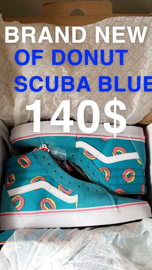 27fa12036776d5 Vans Odd Future Scuba Blue Donuts Sk8 Hi Mens 8.5 for Sale in Tracy ...