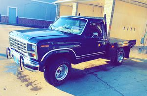 1981 ranger f150 4x4 with hydraulic bed one owner willing to trade for sale  Oologah, OK