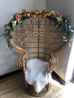 Peacock chair Thumbnail
