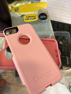 Case iPhone 8 pink color for Sale in Mount Rainier, MD
