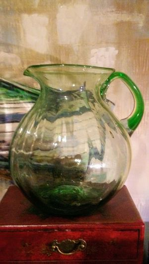 Mid-century hand blown glass pitch for Sale in San Francisco, CA