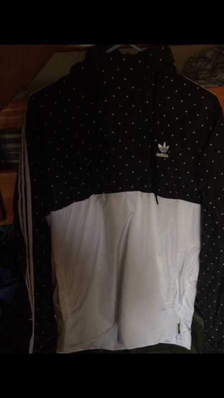Adidas x Pharrell Williams HU woven hoodie for Sale in San Jose 25c93d80b