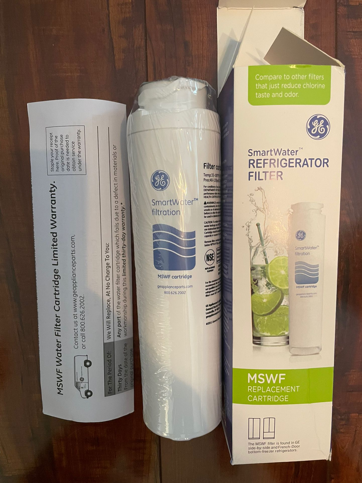 GE MSWF Refrigerator Filter - Brand New In Box