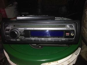 Sony Xplod S-drive Single din CD player for Sale in Eugene, OR