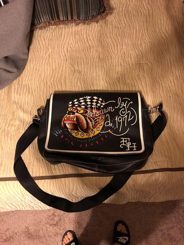 10fd8f2007 Ed Hardy messenger bag for Sale in Burlington