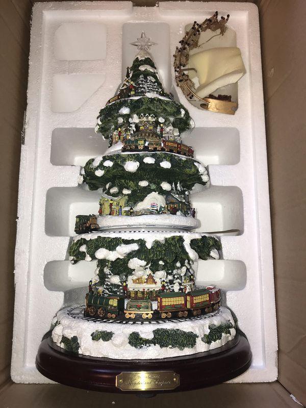 Thomas Kincaid Wonderland Express Christmas Tree For Sale In