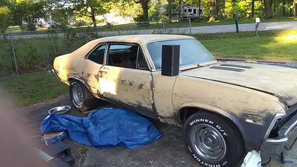 72 Chevy Nova new motor 4 speed lots of new parts floor pans new shifter  new brakes not have time need a real good truck ! Looking for a sporty  truck