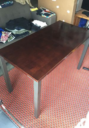 Create&barrel metal and wood desk for Sale in Miami, FL