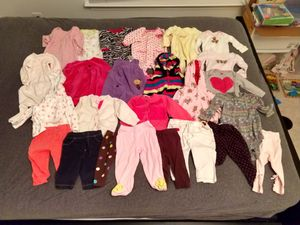 Winter girls clothes size 6 months for Sale in Germantown, MD