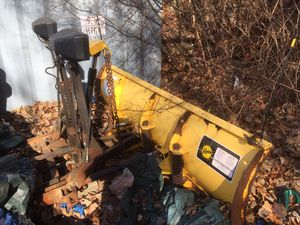 Fisher Plow 7 5 Ft Minute Mount For Hydraulic Pump Units For Sale