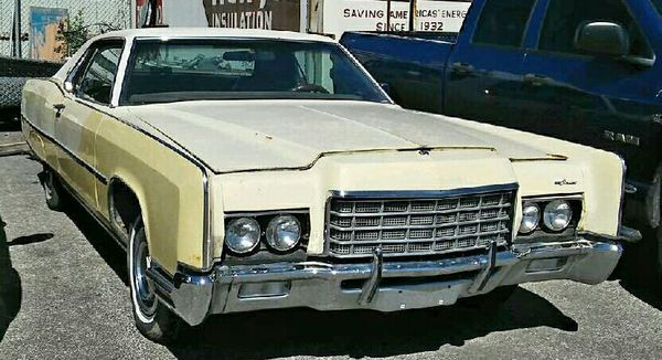 1972 Lincoln Continental 2dr for Sale in Kansas City, MO - OfferUp