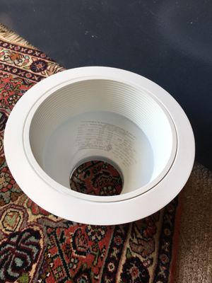 8 White Recessed Trim Cans for Sale in VA, US