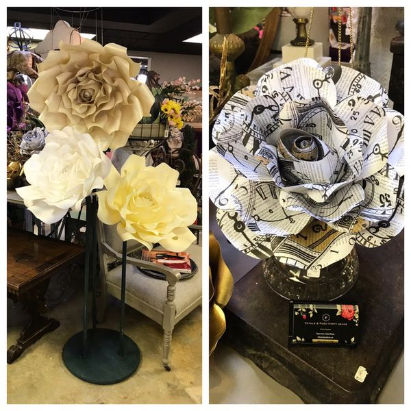 Paper Flowers And Backdrop Rentals For Sale In Fresno Ca Offerup