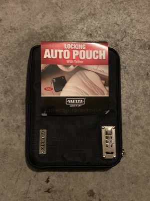 Vaultz locking auto pouch for Sale in Las Vegas, NV