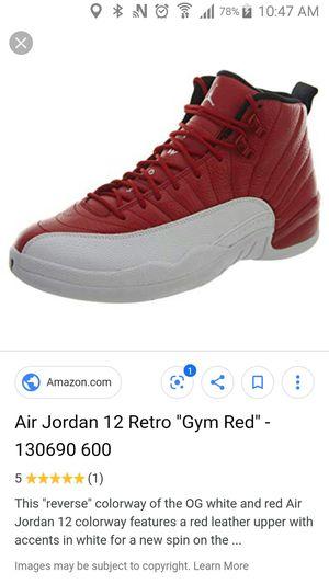 best cheap c8b41 9e0b4 New and Used Jordan 12 for Sale in Elizabeth, NJ - OfferUp