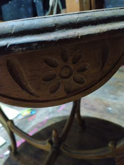 Antique Small Table Very Old Thumbnail