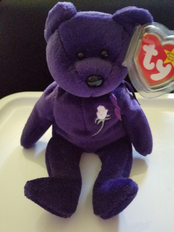 First Edition 1997 Princess Diana Beanie Baby Bear for Sale in South ... d6a249b19bc