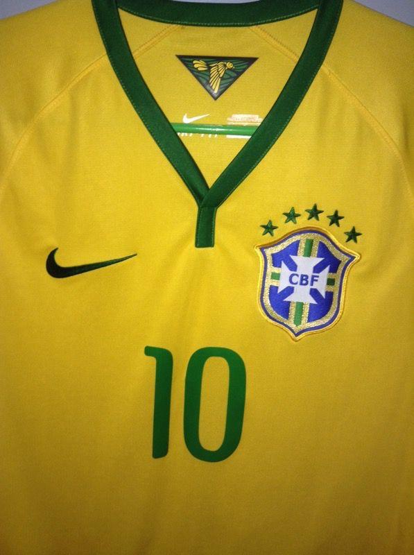 Original Nike Brazil Neymar Jersey