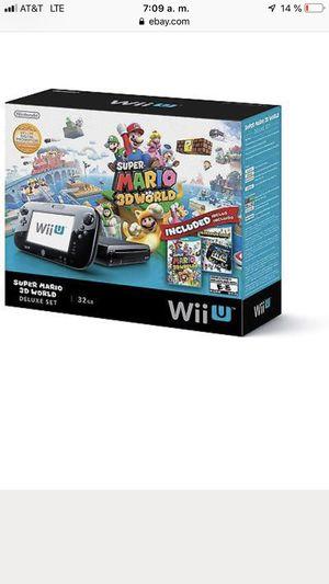 Nintendo Wii U for Sale in Hockley, TX