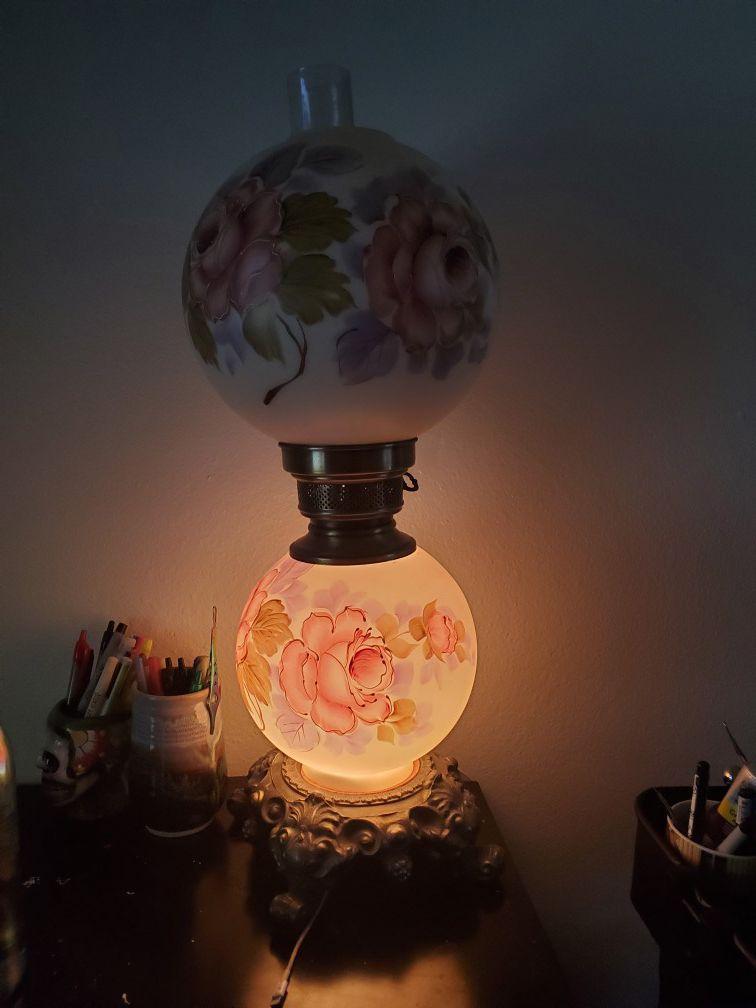 Vintage parlor lamp