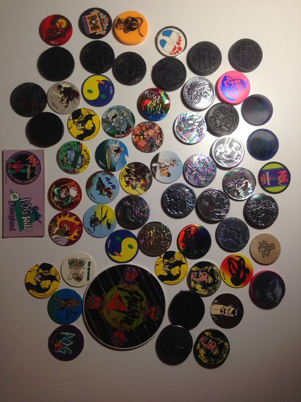 Pogs  Collection of over 50 vintage pogs and slammers  for Sale in San  Diego, CA - OfferUp