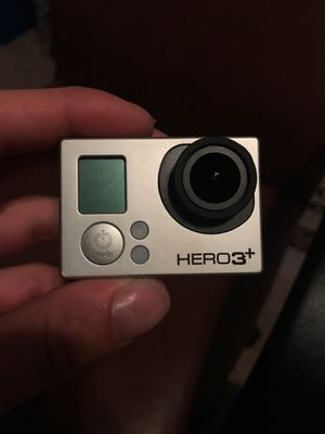 GoPro hero 3+ black for Sale in Houston, TX