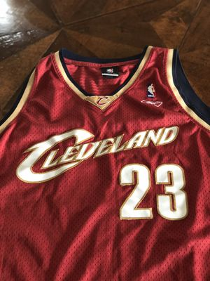 Authentic LeBron James Cavilers Jersey for Sale in Bethesda, MD