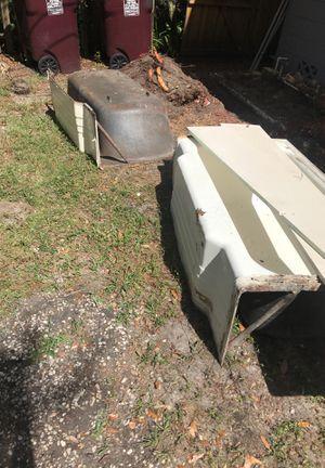 2 FREE Steel bath tubs HEAVY for Sale in Orlando, FL