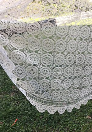 Lace overlay tablecloths for Sale in Annandale, VA