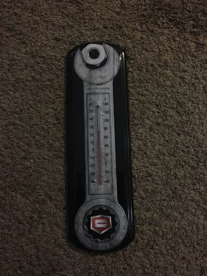 Man cave craftsman thermometer. for Sale in Union City, CA