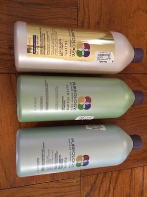 Pureology trio - 1 liter - 2 shampoo/1 conditioner for Sale in Washington, DC