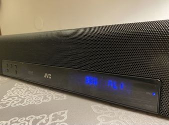 JVC SOUND BAR FOR HOME THEATER/GAMING:  WITH SURROUND SOUND MODE AND SUBWOOFER PRE-OUT!  Thumbnail