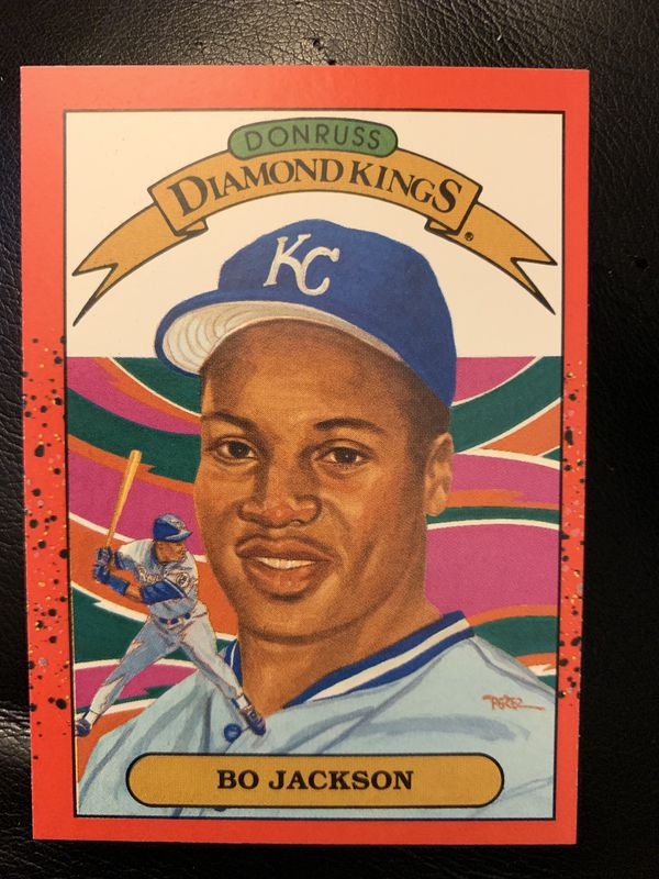 Bo Jackson Baseball Card For Sale In Campbell Ca Offerup