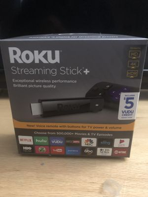 Roku streaming stick plus for Sale in Frederick, MD