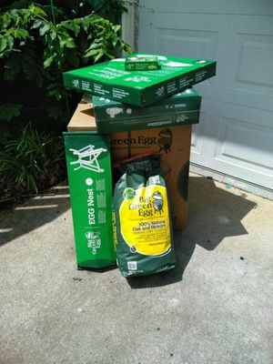 New large big Green egg for Sale in Sugar Hill, GA - OfferUp