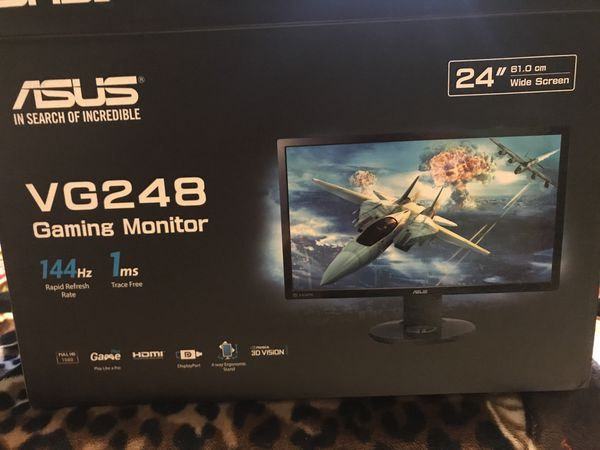 Asus VG248QE gaming Monitor for Sale in Compton, CA - OfferUp