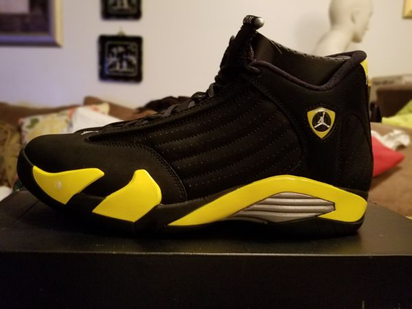 wholesale dealer 2c387 86a47 Air Jordan Retro 14  Thunder  (2014) for Sale in Lauderhill, FL - OfferUp